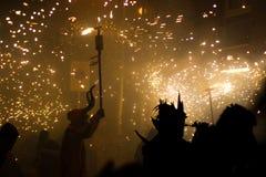 brandkörningar Royaltyfri Bild