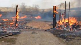 brandkatastrof lager videofilmer