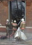 brandkatastrof Royaltyfri Foto