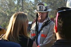 Brandklocka - mediabevakning arkivbilder