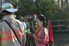 Brandklocka - mediabevakning Royaltyfri Fotografi