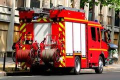 brandlastbil Arkivbild