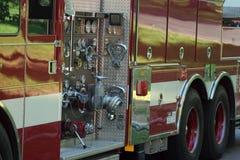 brandlastbil Arkivfoton