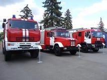 brandlastbilar Royaltyfria Foton