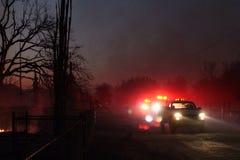 Brandlastbilar arkivbild