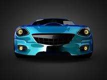 Brandless LuxusSportwagen Stockbild