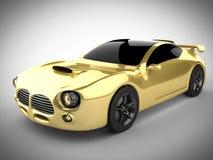 Brandless LuxusSportwagen Lizenzfreie Stockbilder