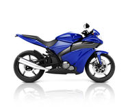 Brandless Motorcycle Motorbike Vehicle Concept Royalty Free Stock Images