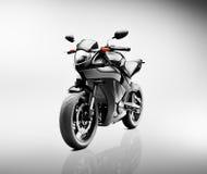 Brandless Motorcycle Motorbike Vehicle Concept Stock Image