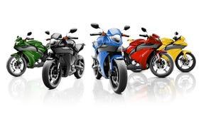 Brandless Motorcycle Motorbike Vehicle Concept Stock Photos