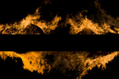 brandlinje Arkivfoto