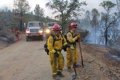 brandmän arkivbilder