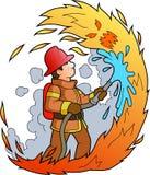 brandman Arkivbilder