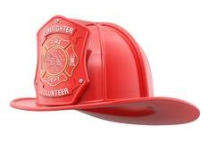 Brandman Helmet Royaltyfri Bild