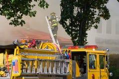 brandmanstege Arkivfoto