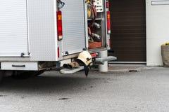 Brandmanutrustning Royaltyfri Fotografi