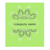 Brandmerkend identiteitsmalplaatje collectief die bedrijfontwerp, voor bedrijfshotel, toevlucht, kuuroord, het embleem van de lux Stock Foto