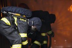 brandmän Arkivfoton