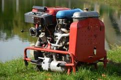 Brandmotor Arkivfoto