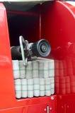 Brandmotorutrustning Royaltyfri Fotografi