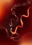 Brandmusik Royaltyfri Fotografi