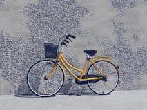 Brandnew bike- 3D города представляет Стоковые Изображения RF