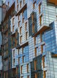 Brandnew budynek mieszkaniowy zdjęcia stock