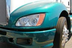 brandnew halv lastbil Royaltyfri Foto