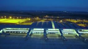 Brandnew lotniskowy terminal zdjęcie wideo