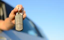 Brandnew samochodów klucze Zdjęcia Royalty Free