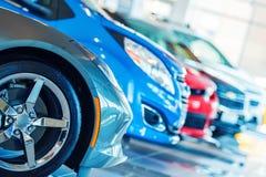 Brandnew samochody Dla sprzedaży Obraz Stock