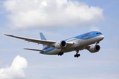 Brandnew samolot Zdjęcia Stock