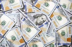 Brandnew Sto Dolarowych rachunków Fotografia Royalty Free