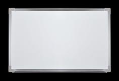 brandnew whiteboard arkivbild