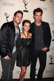 Brandon Barash, Jason Thompson, Lexi Ainsworth Stock Photo