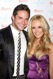 Brandon Barash, Natalie Hall Royalty Free Stock Photo
