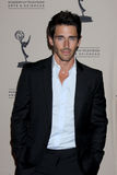 Brandon Beemer arrives at the ATAS Daytime Emmy Awards Nominees Reception Stock Photo