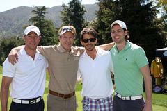 Brandon Beemer,Kyle Lowder,Jack Wagner Royalty Free Stock Images
