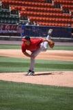 brandon duckworth pawtucket投手Red Sox 免版税库存照片