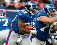 Brandon Jacobs Fotografie Stock
