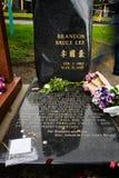 Brandon Lee doniosły miejsce Obraz Stock