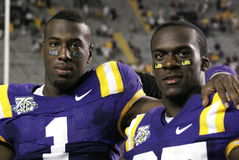 Brandon LeFell et Jared Mitchell Image stock