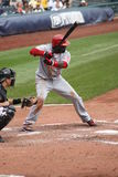 Brandon Phillips  of the Cincinnati Reds Royalty Free Stock Photo