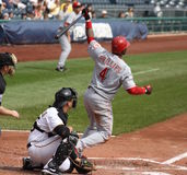 Brandon Phillips de Cincinnati Reds Image libre de droits