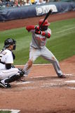 Brandon Phillips de Cincinnati Reds Photo libre de droits