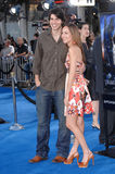 Brandon Routh, Courtney Ford stockfotos