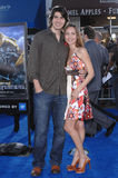 Brandon Routh, Courtney Ford Stock Image