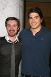 Brandon Routh, Sam Huntington Royalty Free Stock Photos