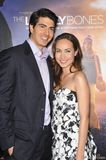 Brandon Routh, Courtney Ford stockbilder
