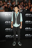 Brandon Soo Hoo GI Joe Premiere Stock Photo